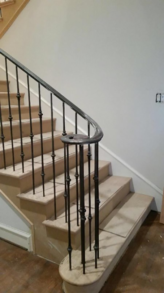 Wrought Iron Railing #3