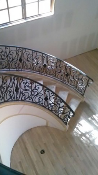 Wrought Iron Railing #6