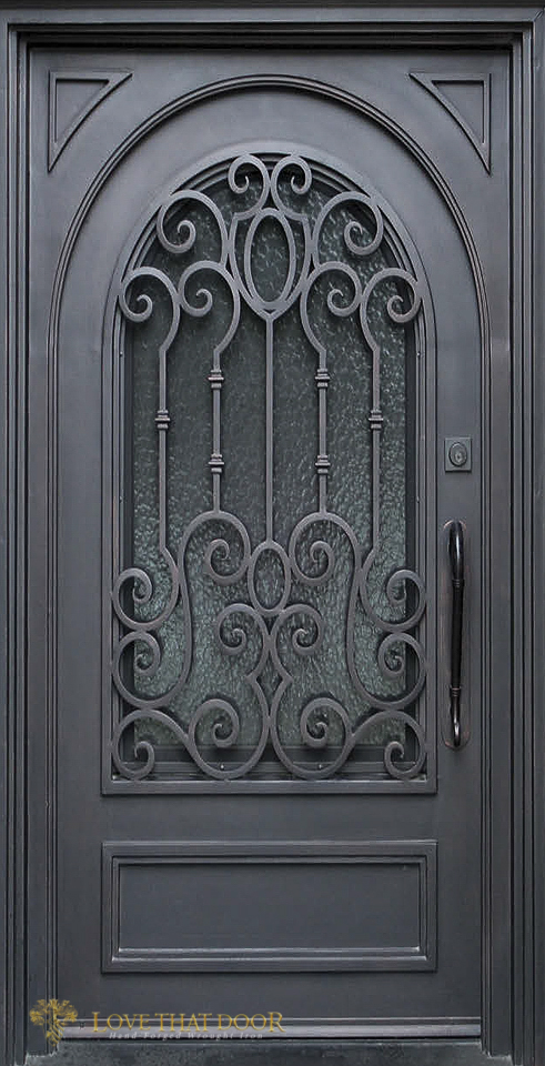 Single Entry Iron Door #14