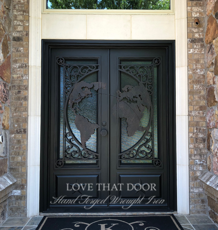 Double Entry Iron Door #11
