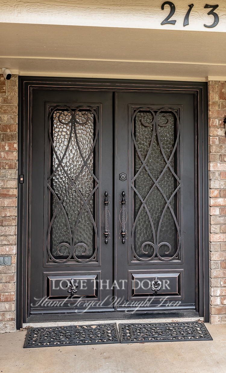 Double Entry Iron Door #6