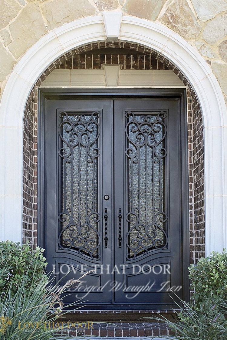 Double Entry Iron Door #8