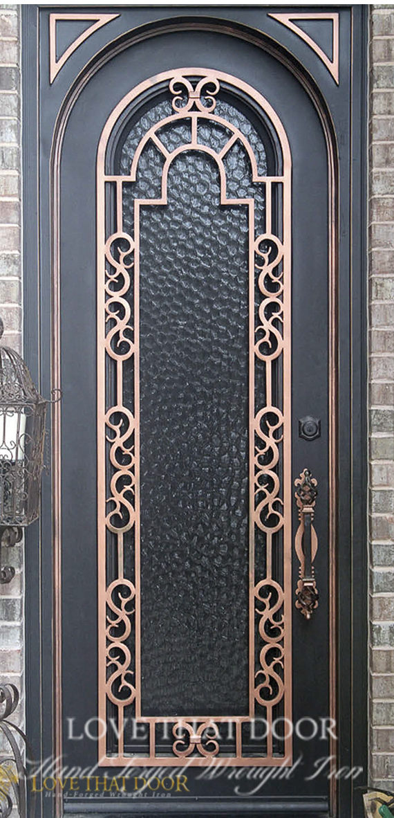 Single Entry Iron Door #13