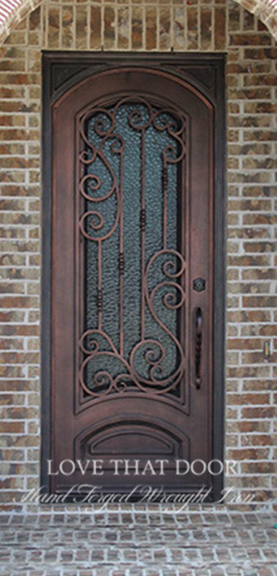 Single Entry Iron Door #19