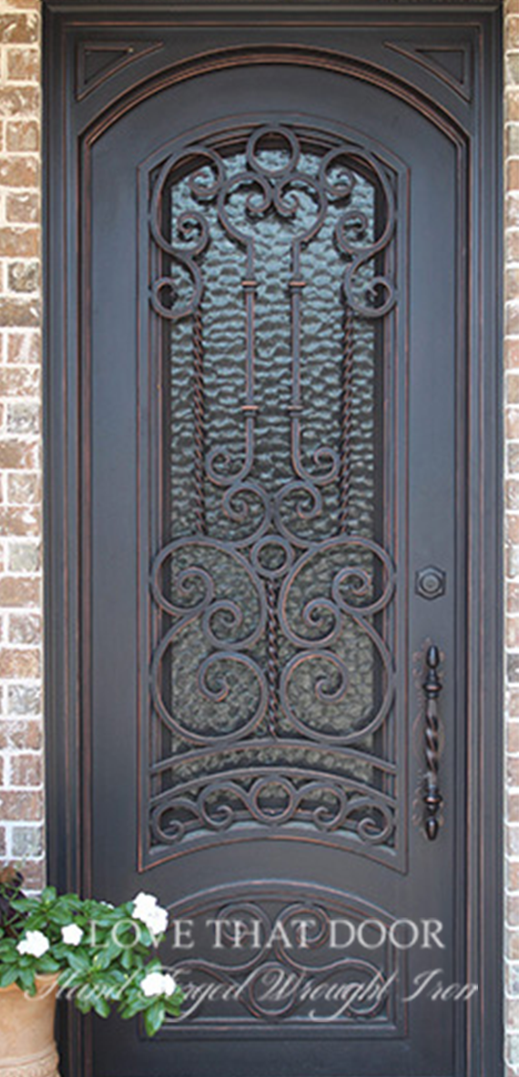Single Entry Iron Door #21