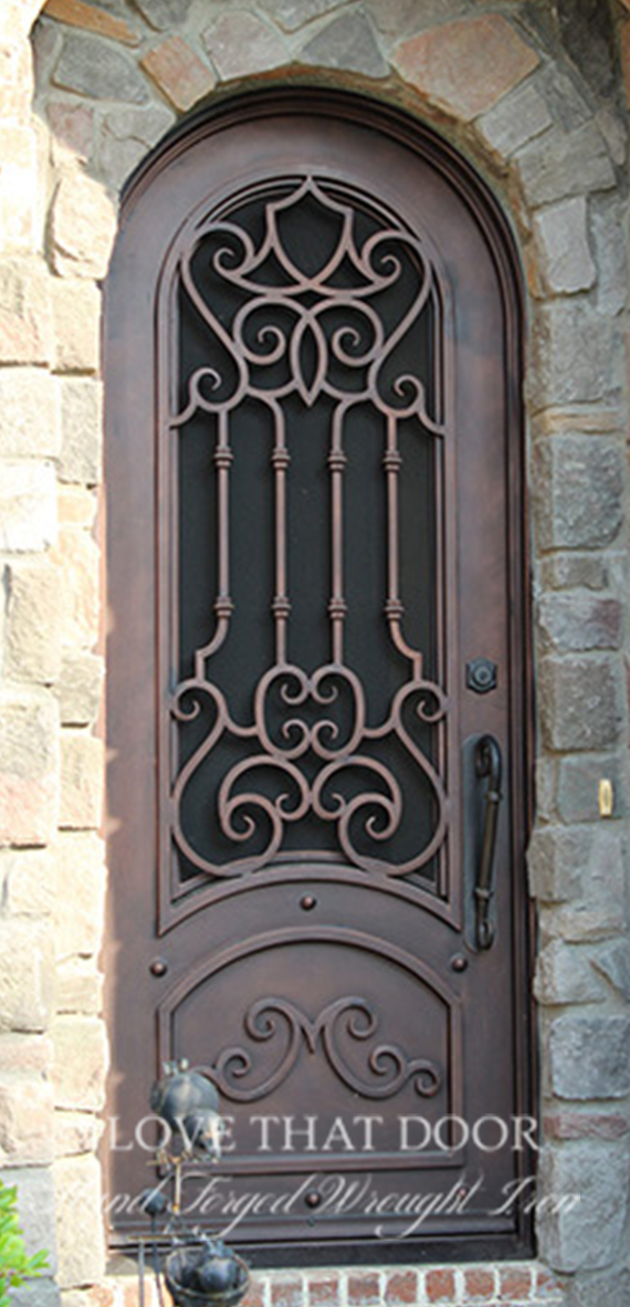 Single Entry Iron Door #25