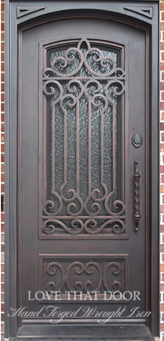 Single Entry Iron Door #28