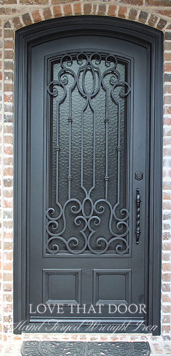 Single Entry Iron Door #29