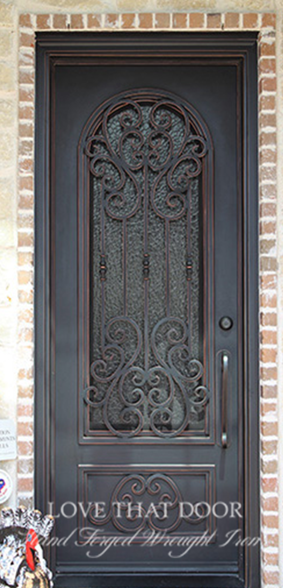 Single Entry Iron Door #30