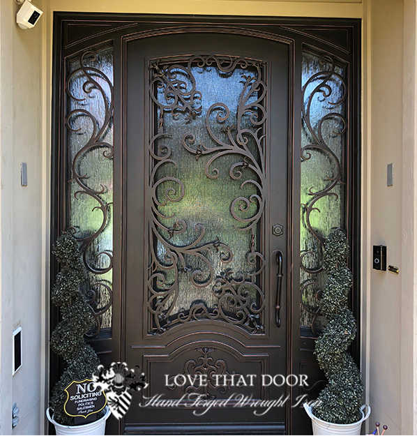 Double Entry Iron Door #1